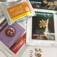 Bronze und Kupfer Material und Zubehör