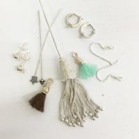 Ohrringe, Stifte, Quasten