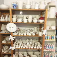 Rohkeramik und Keramikmalfarben